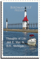 Thoughts of Life: 360 E. May St., B.H., Michigan by Birdman '313'